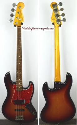 FENDER Jazz Bass 62'-US 3TS 1994 Japon import  *OCCASION*