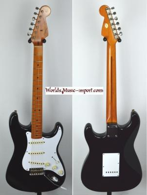 FENDER Stratocaster '57 reissue '50th annivesary' Black USA 1996  *OCCASION*