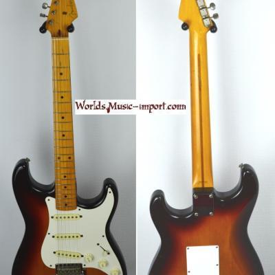 VENDUE... FENDER Stratocaster ST'58 Sunburst 1993 Japon RARE *OCCASION*