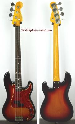 VENDUE... FENDER Precision Bass '62-US 3TS 2000 Japon import *OCCASION*