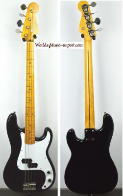 VENDUE---FENDER Precision Bass 57' Black 2004 Japon import *OCCASION*