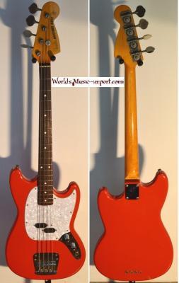 VENDUE... FENDER Mustang Bass MB-98 SC FRD 2003 Japon Import RARE *OCCASION*