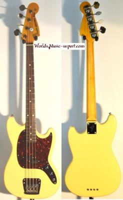 VENDUE... FENDER Mustang Bass YWHITE 2004 Japon import *OCCASION*