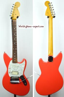 VENDUE...  FENDER Jag-Stang JG-65 Fiesta Red 1997 Japon *OCCASION*