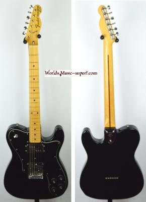 VENDUE... FENDER Telecaster 72' CUSTOM Black JV 1983 Japan *OCCASION*