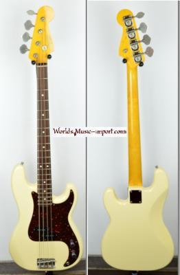 FENDER Precision Bass '62 WHITE 2005 Japon import *OCCASION*