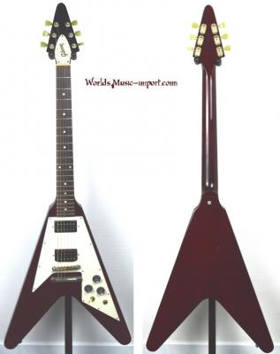 GIBSON Flying V 67' Aged Cherry 2006 USA Import *OCCASION*