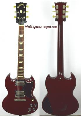 VENDUE... GIBSON SG '62 reissue H.Cherry 1988 USA Import *OCCASION*
