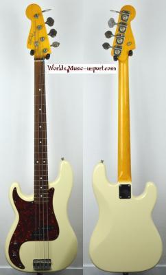 VENDUE... FENDER Precision Bass 62' WH LH Gaucher 2003 japon RARE *OCCASION*