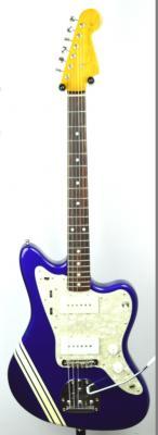 FENDER Jazzmaster JM-66 CO Jupiter Blu 2010 Japon *OCCASION*