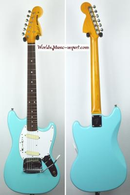 VENDUE... FENDER Mustang MG'69 Sonic Blue 2004 RARE japon *OCCASION*