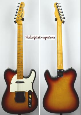 VENDUE... GRECO Telecaster 52' Sunburst 'Spacey Sound 1975 Japon Import! *OCCASION*