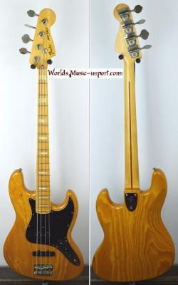 RESERVEE... FENDER JB'75 ASH Natural 1990 Japon import  *OCCASION*