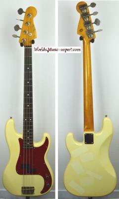FENDER Precision Bass '62 VWHITE 1989 Japon import *OCCASION*