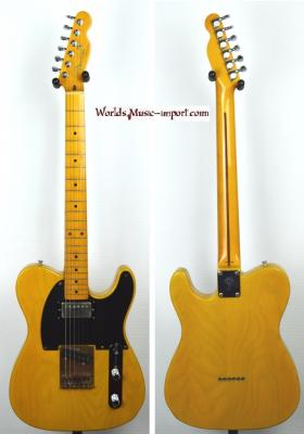 VENDUE... FENDER Telecaster TL'52 SPL Humbucker ASH Butterscotch Blonde 1989 Japon *OCCASION*