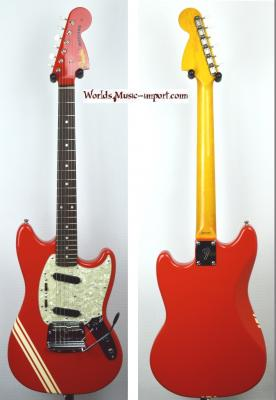 VENDUE... FENDER Mustang 73' Competition FRD MH 2012 Japon *OCCASION*