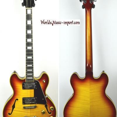 VENDUE... GRECO Jazz Sa-500 Sunburst Flame Top 1972 ES339 japon import *OCCASION*