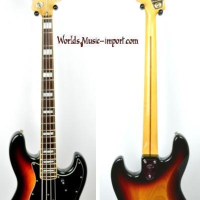 VENDUE... FENDER Jazz Bass '75 3TS Sunburst 1986 japon import