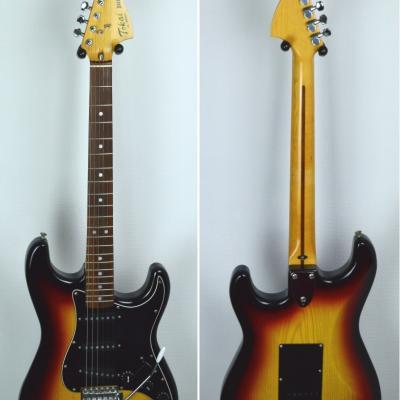 VENDUE... TOKAÏ Stratocaster SS-48 Sunburst 1983 CBS Japon *OCCASION*