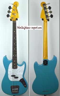 VENDUE... FENDER Mustang Bass MB-98' CBL Blu 2008 Japan Import RARE import *OCCASION*