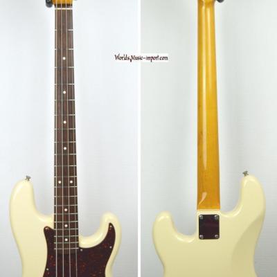 VENDUE... FENDER Precision Bass PB'62 VWHITE 2005 Japon Import *OCCASION*