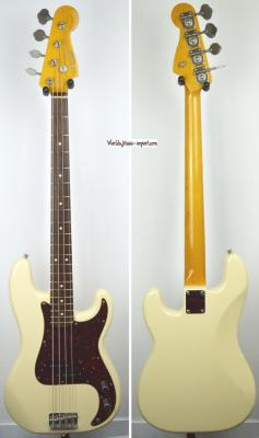 FENDER Precision Bass PB'62 VWHITE 2005 Japon Import *OCCASION*