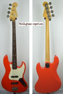 VENDUE... FENDER Jazz Bass Standard Fiesta Red 1998 'LTD' RARE japon import *OCCASION*