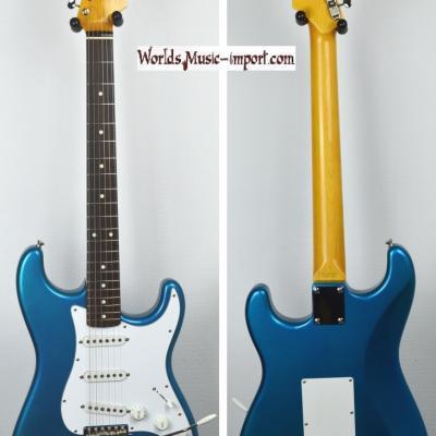 VENDUE... FENDER Stratocaster 62' LPB 'Lake Placid Blu' 2004 Japon! *OCCASION*