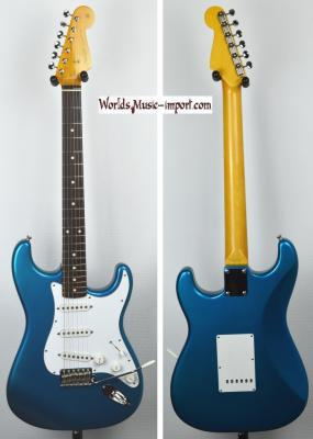 VENDUE... FENDER Stratocaster 62' LPB 'Lake Placid Blu' 2004 Japon! *OCCASION*