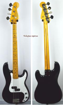 FENDER Precision Bass PB-57' Black 2005 Japon import *OCCASION*