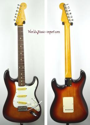VENDUE... FENDER Stratocaster ST'62 3TS 1991 Japon import *OCCASION*