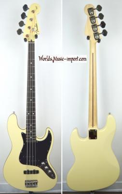 VENDUE... FENDER Jazz Bass Aerodyne DLX VWH 2007 japon import *OCCASION*