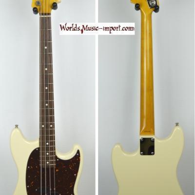 VENDUE... FENDER Mustang Bass MB'98 VWH 2007 Japon import *OCCASION*