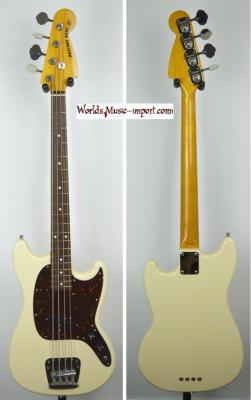 VENDUE... FENDER Mustang Bass MB'98 VWH 2007 Japon import *OCCASION*