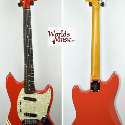 VENDUE... FENDER Mustang 73' Competition FRD MH 2008 Japon import *OCCASION*