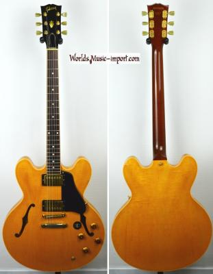 VENDUE... GIBSON ES 335 Dot Natural Gloss Flame 1995 USA Import *OCCASION*