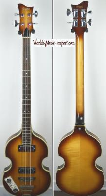 VENDUE... GRECO Violin Bass VB-500 LH Sunburst 1977 Beatles 'GAUCHER' Japon import *OCCASION*