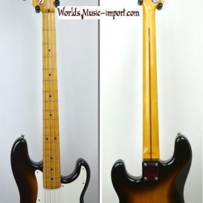 VENDUE... FENDER Precision Bass PB '57 RI 2TS 1991 Japon Import *OCCASION*