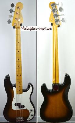 VENDUE... FENDER Precision Bass PB '57 RI 2TS 1991 Japon Import *OCCASION*