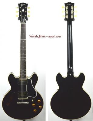 GIBSON ES 336 Black 'Custom Shop' 2009 USA import *OCCASION*