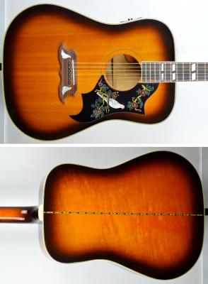 Orville by GIBSON Folk DOVE 1992 Sunburst japon import *OCCASION*