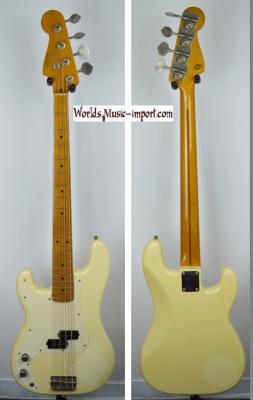 VENDUE... FENDER Precision Bass '57 LH VWH 1988 Gaucher Import Japon *OCCASION*