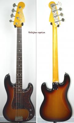FENDER Precision Bass '62-US 3TS 2007 DMC 'Di Marzio Collection' japon Import *OCCASION*