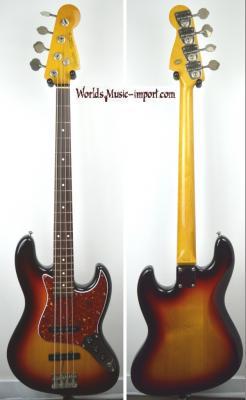 FENDER Jazz Bass JB'62-US 3TS 2004 Japon Import  *OCCASION*
