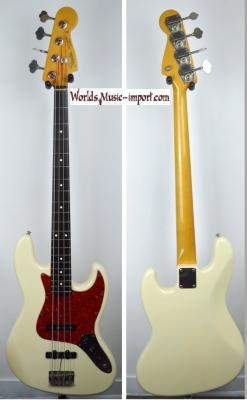 VENDUE... FENDER Jazz Bass '62-75 WH JV 1983 Japon Import *OCCASION*