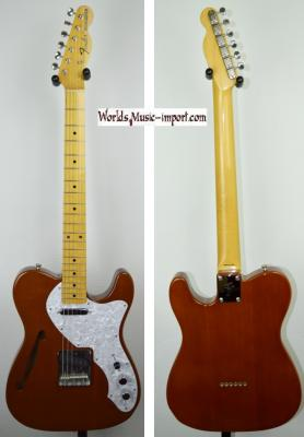 VENDUE... FENDER Telecaster TL-69' Brown Thinline 2009 japon import *OCCASION*