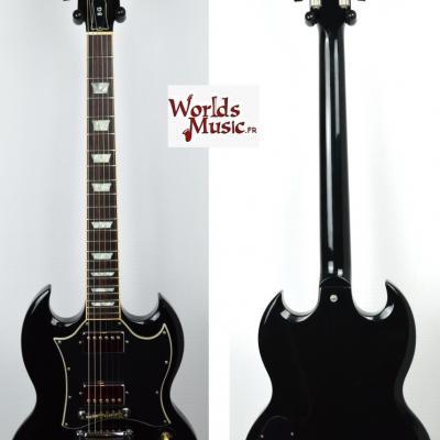 VENDUE... GIBSON SG Standard Black 2002 USA Import *OCCASION*