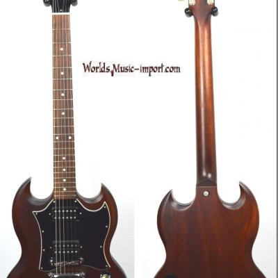 VENDUE... GIBSON SG special Faded 2007 Brown USA import *OCCASION*