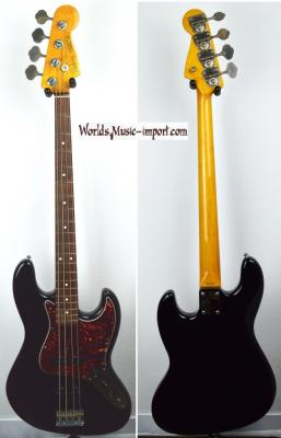 VENDUE... FENDER Jazz Bass JB'62-US Black 2003 Japon import *OCCASION*