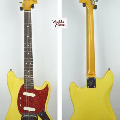 VENDUE... FENDER Mustang MG 69' YWH 1990 japon import *OCCASION*